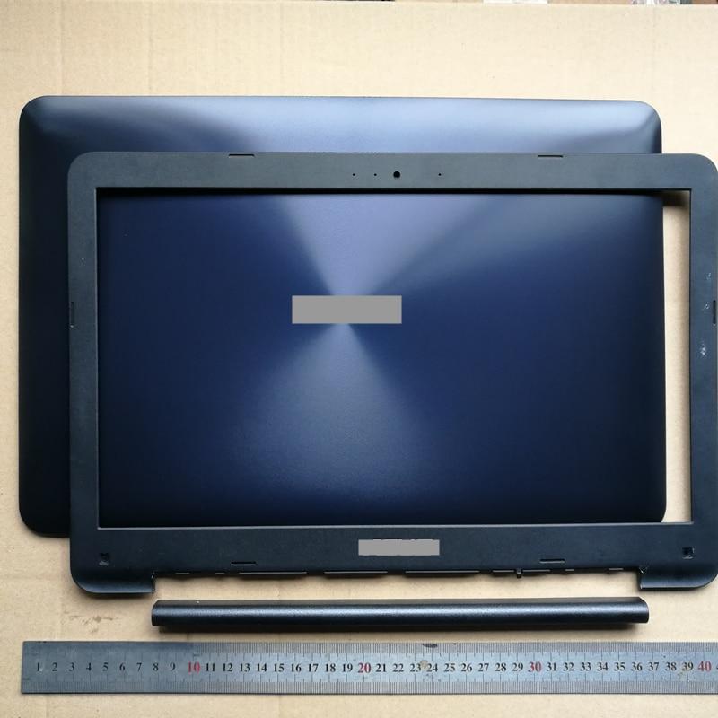 90% جديد حافظات الكمبيوتر المحمول/lcd الجبهة الحافة/المفصلي غطاء ل ASUS X556 X556U A556 A556U R556 fl5900u F556U
