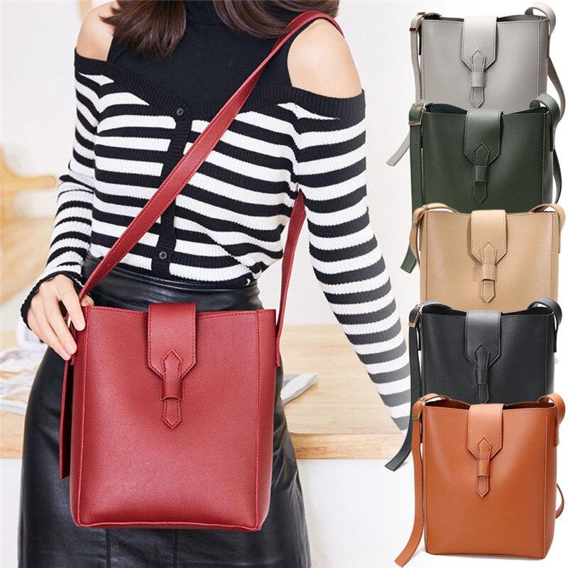 Women Large Capacity Fashion Casual Messenger Bag Single shoulder bag PU Leather Bag