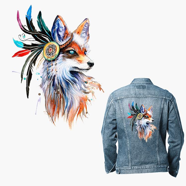 ¡Novedad de 2019! disfraz DIY con estampado en caliente de caballo de colores con estampado de zorro