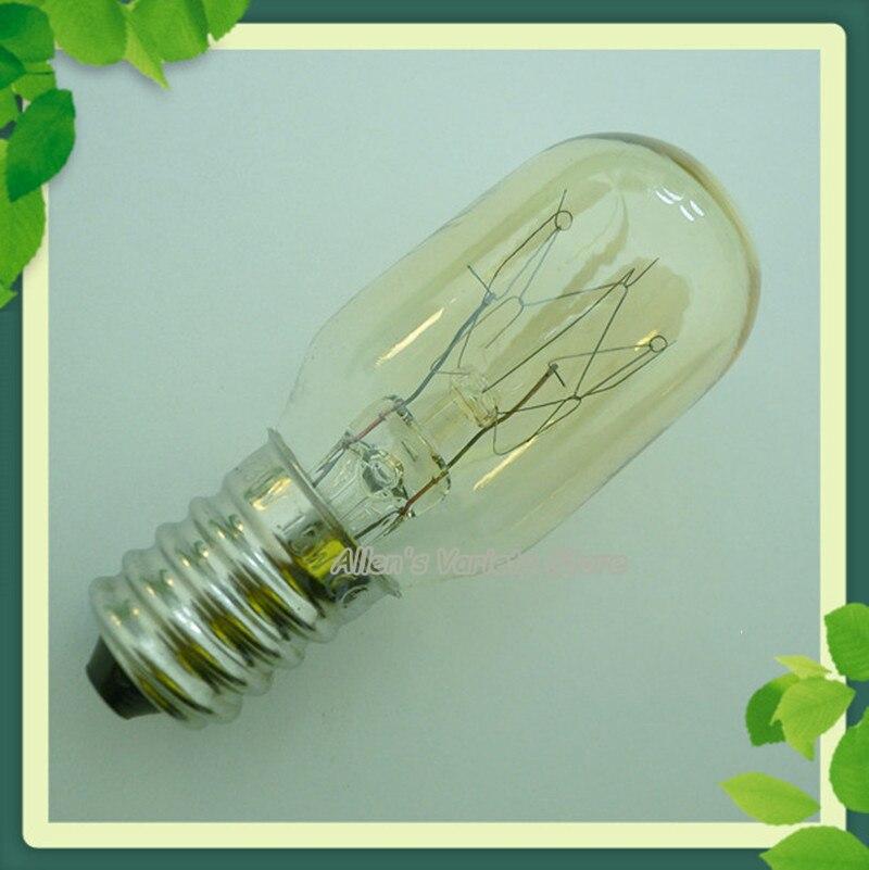 E14 15W T22 110V 120V 130V 220V 230V 25W bombilla indicadora bombilla para refrigerador bombilla de fragancia para lámpara de aceite esencial