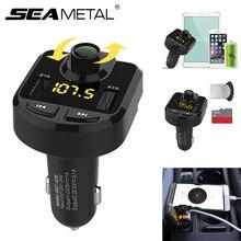 Bluetooth Auto MP3 Player FM Transmitter Drahtlose Radio Adapter USB Ladegerät Mp3 Player Auto Cigeratte Leichter Ladegerät Zubehör