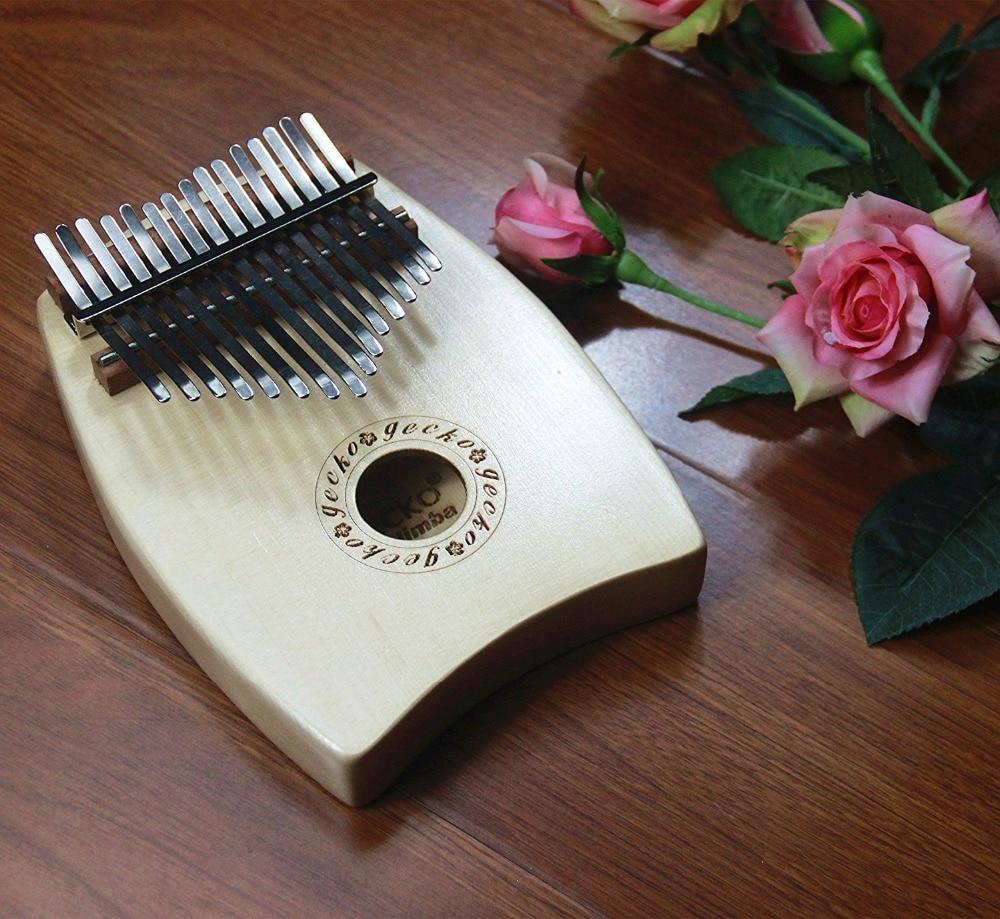 Gecko Spruce G Tone Wood 15 клавиш калимба, акустическое фортепиано с инструкцией
