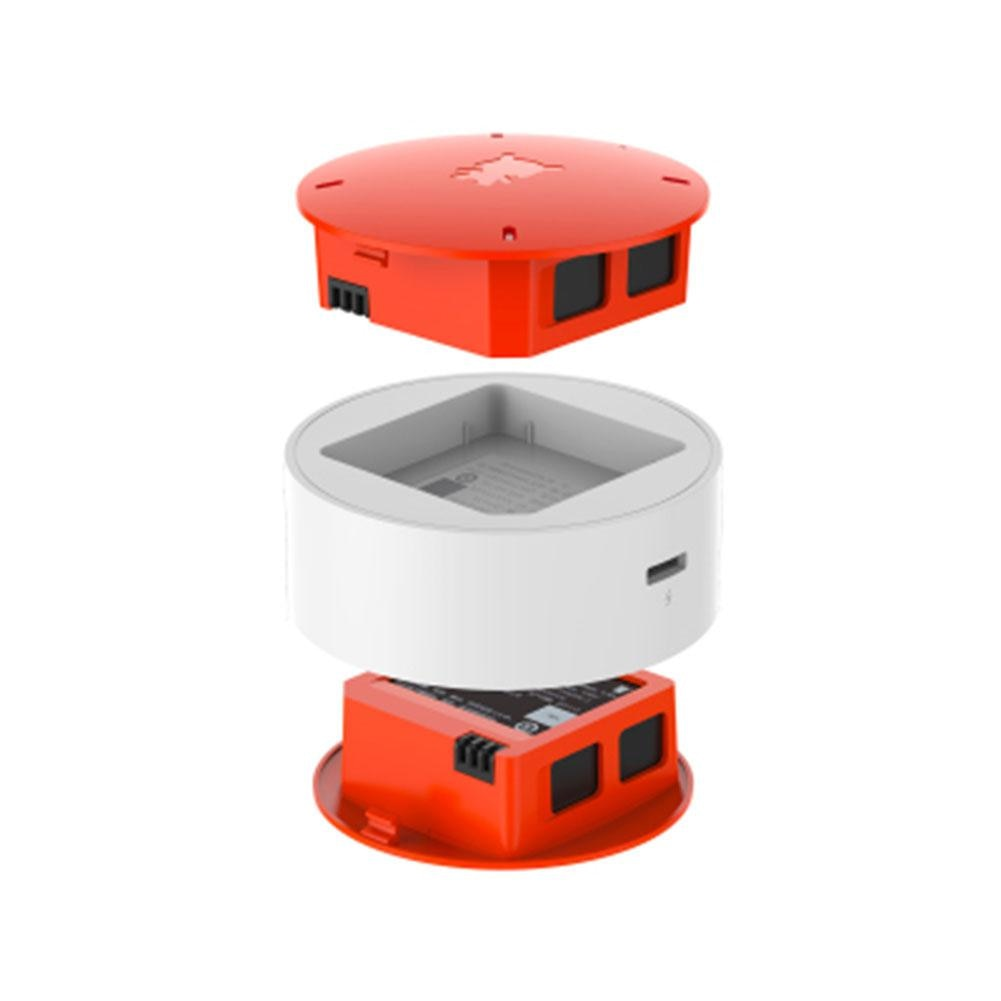 LeadingStar 2PCS 920mAh Batterie mit Ladegerät für Xiaomi MiTu WiFi FPV Quadcopter Drone Ersatzteile D30