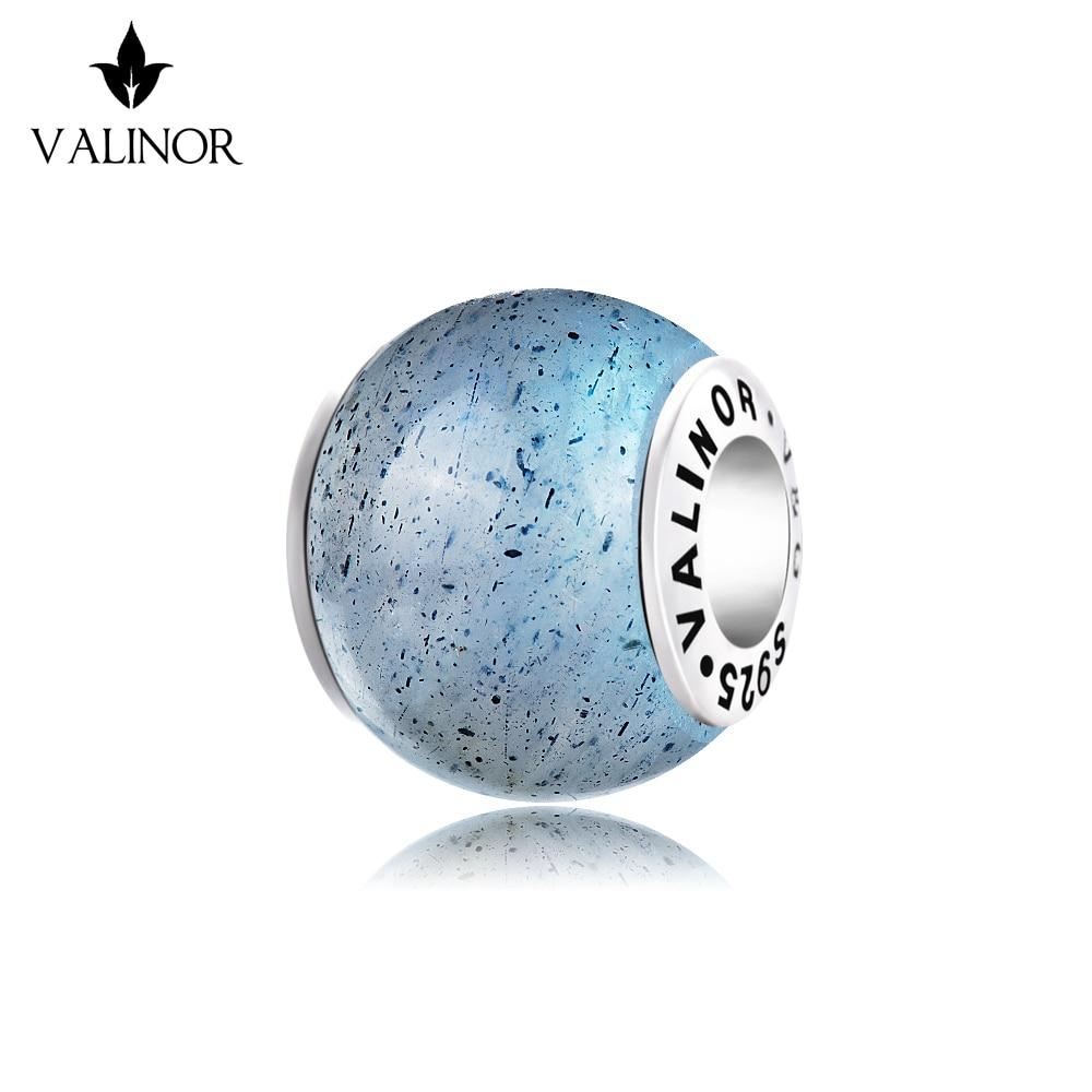 Abalorios de piedra lunar cuentas de plata esterlina 925 pulseras y brazaletes TRBS005