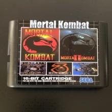 Mortal Kombat 5 In 1 Voor Sega Genesis Mega Drive 16 Bit Game Cartridge Voor Pal En Ntsc Drop Shipping