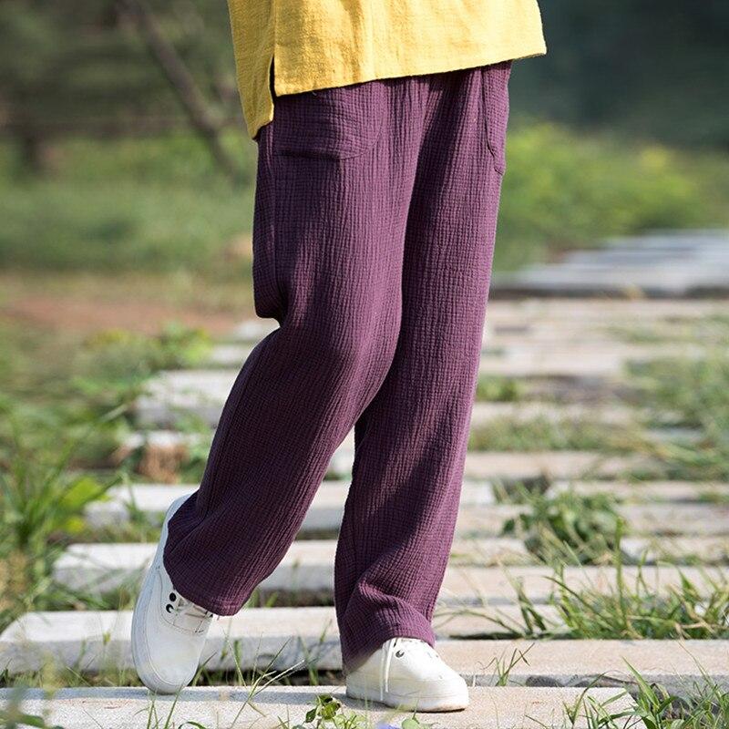 Pantalons pour femmes 2020 printemps & été femmes coton lin pantalon pantalon ample femme pantalon droit grande taille pantalon M-6XL