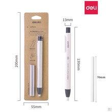 Deli facilement en caoutchouc étudiant avec une papeterie créative automatique rétractable stylo gomme propre gomme reffill art peinture Suppli