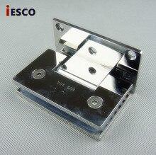 Pince à pince en verre lumière simple   En acier moulé 304 pince pour salle de bain douche en acier inoxydable 90 simple