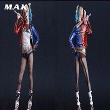 12 pouces escouade Suicide Joker Harley Quinn 1/6 échelle femme Action figurine modèle jouet Harleen Batman Deadshot Venom pour Collection