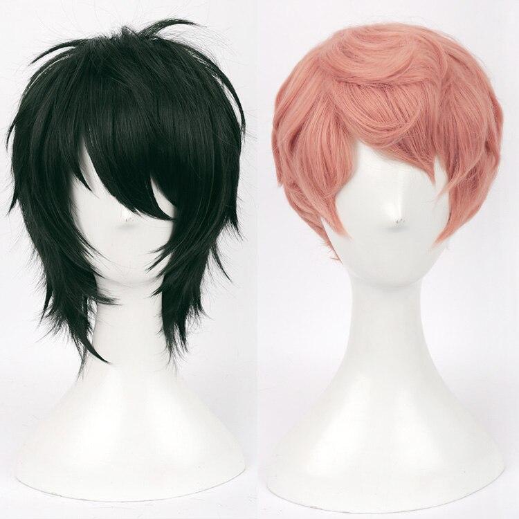 Anime conjunto estrellas Valquiria Mika Kagehira Syu Itsuki Cosplay del pelo disfraz Unisex sintético pelo