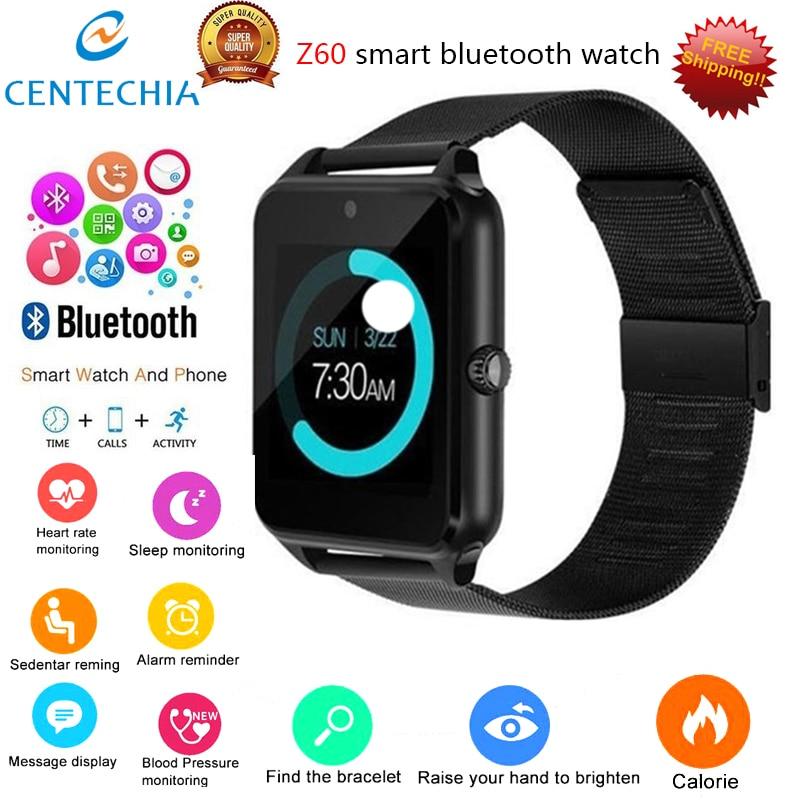 Reloj inteligente deportivo para hombre y mujer, con Bluetooth, control del ritmo cardíaco, podómetro, resistente al agua y compatible con tarjeta TF de cámara y pulsera inteligente