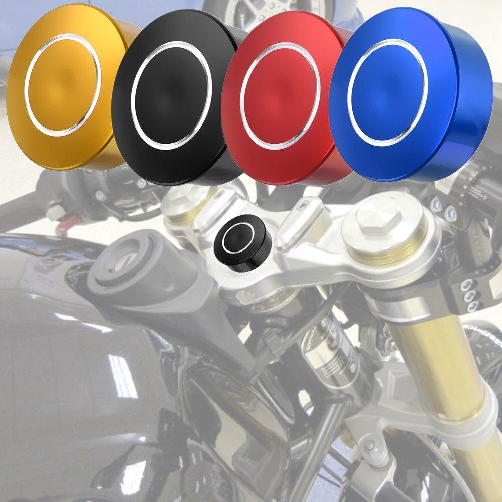 CNC Upper Top Front Fork Center Covering Cap Yoke Plug Protector for BMW S1000RR R Nine T Pure Racer Scrambler Urban G/S