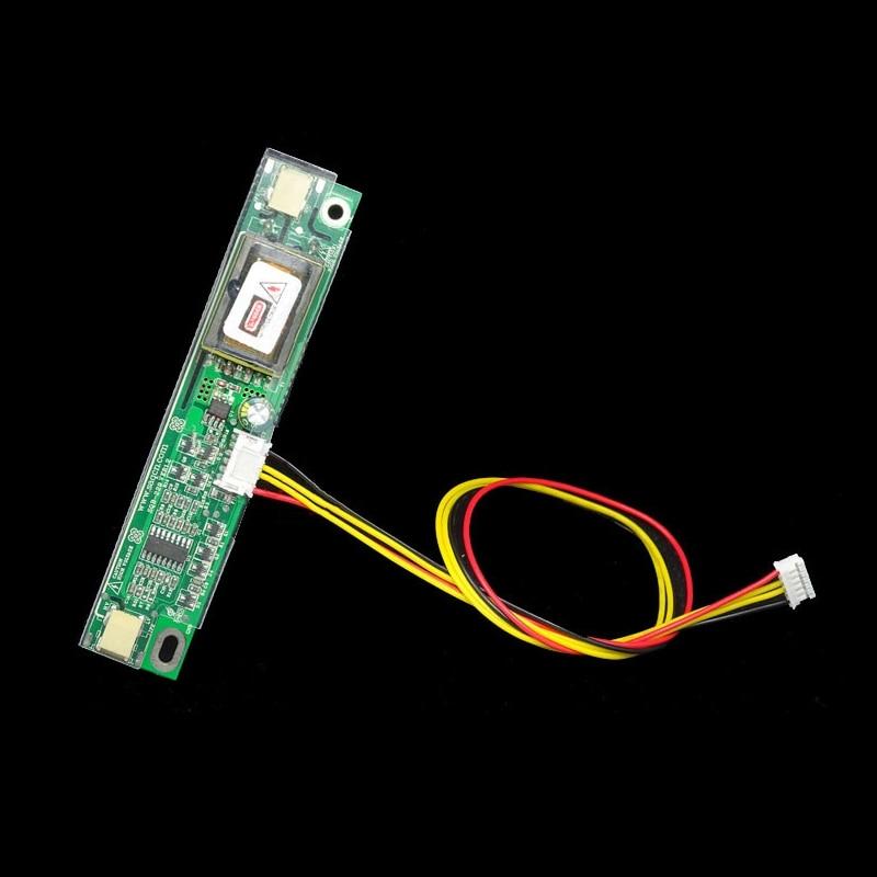 אוניברסלי 2-מנורת CCFL פה קטן מהפך לוח עם כבל ערכת עבור LED/LCD פנל מחשב נייד מסך מחשב תצוגת תאורה אחורית אבזרים