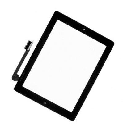 "9,7 ""para Ipad 4 A1458 A1459 A1460 Panel digitalizador de cristal con botón de inicio para reparar piezas de teléfono móvil"
