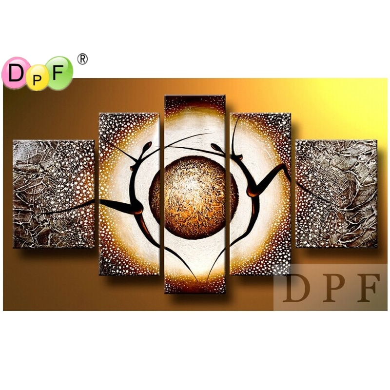 Абстракция человеческого тела Diy Алмазная вышивка картина квадратный горный хрусталь вышивка крестиком Триптих домашний декор наборы Алма...
