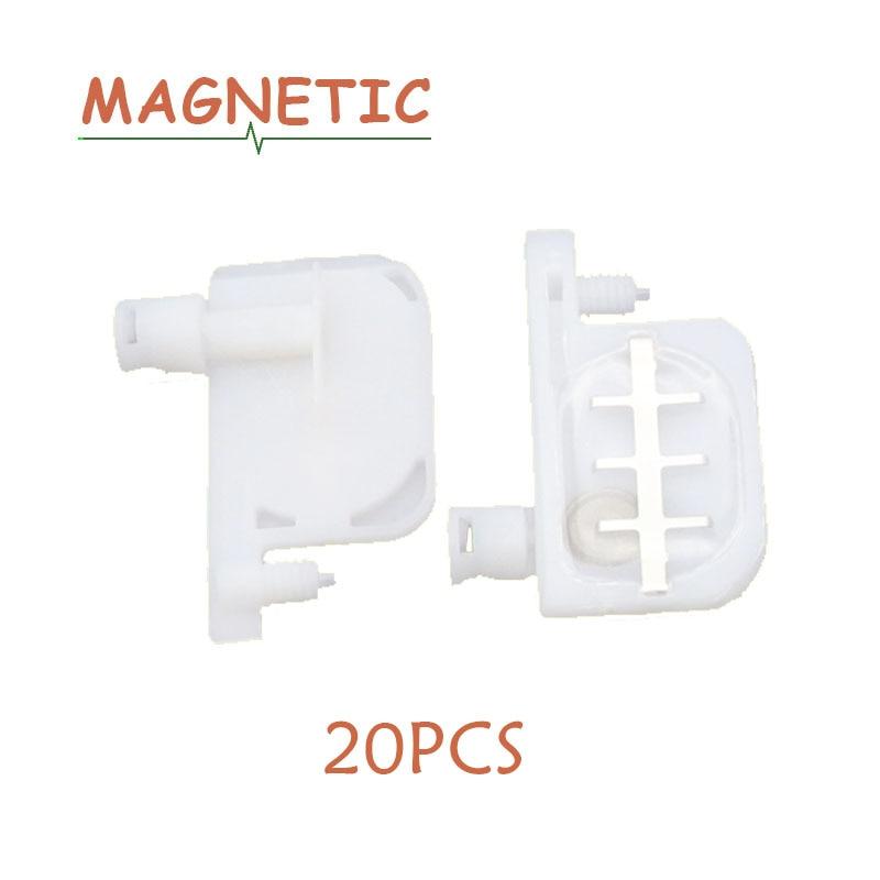 Cabeza de 20x pequeño amortiguador de tinta cabeza circularidad para impresoras Epson R1800 1900 1390 2400 1100 DX4 eco solvente para Roland Mutoh Mimaki