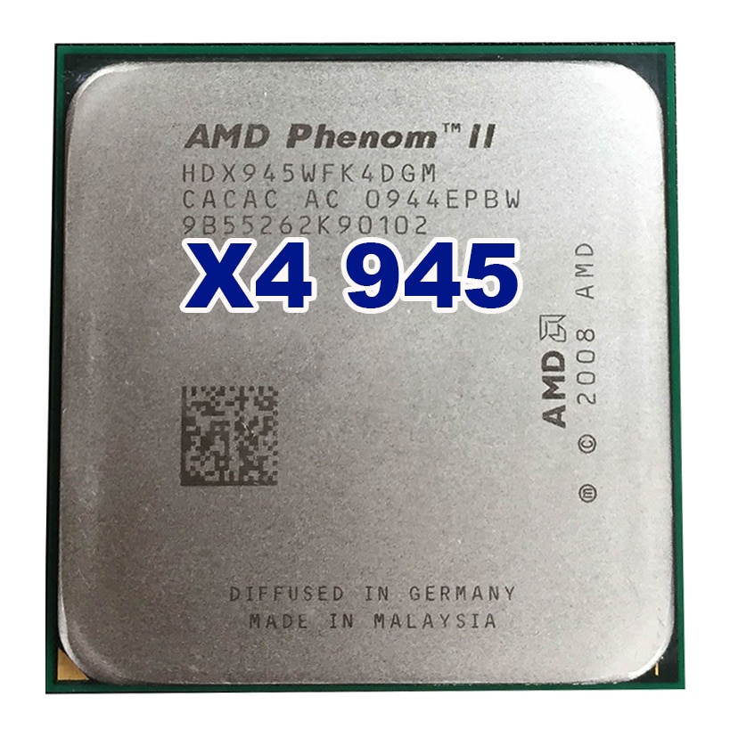Original oficial AMD Phenom II X4 945 procesador de CPU 3,0 GHz...