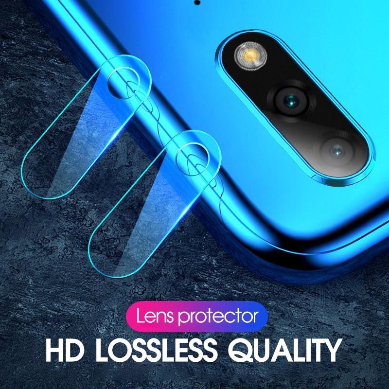 2PCS Back Camera Lens For Huawei Honor 8X Play 8C Note 10 9 Lite Magic 2 9i Screen Protector For Huawei Nova 4 3i 3E 2i HD Film