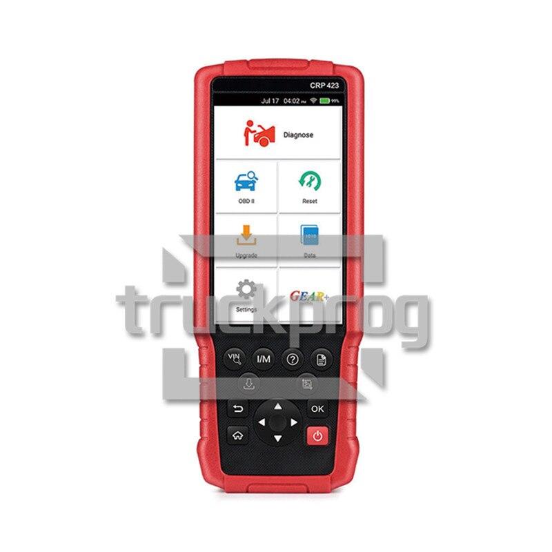 Auto Diagnostic Tool Launch X431 CRP423 Code Reader obd2 OBD 2  Diagnostic Scanner Engine Transmission Diagnosis tool