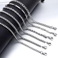 Acier inoxydable hommes collier lien chaîne collier pour femmes bijoux fille 2019 nouveau été plage bijoux partie cadeau