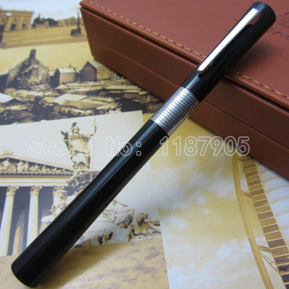 JINHAO Black-Color Slender Fountain Pen Jh158233