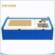 Coupeur de Laser 40W CO2 Laser gravure découpeuse bois graveur cuir coupeur 300X200MM