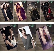 Einzigartige Für Apple iPhone 4 4 s 5 5C SE 6 6 s 7 8 Plus X Galaxy A3 A5 j1 J2 J3 J5 J7 2017 Tv Show Vampire Diaries Ian Somerhalder