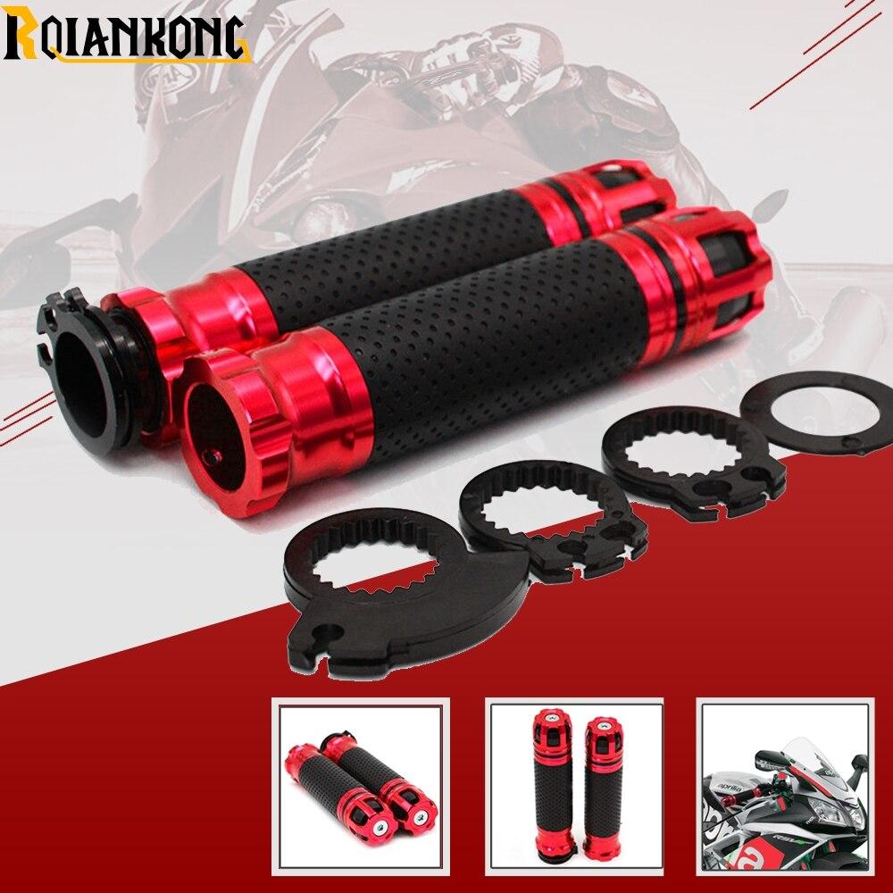 """Para Kawasaki ZRX1100 ZRX1200 ZX1100 ZZR1400 ninja250 motocicleta con empuñaduras de manillar de 22mm 7/8"""""""