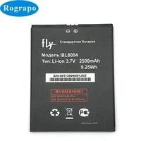 2500mah new bl8004 battery for fly iq4503 era life 6 bl 8004 bateria batterie baterij cell mobile phone batteries