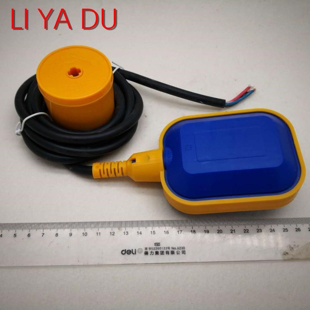 Interruptor de flutuador 2 M 3 M 4 M 5 M 6 M contator interruptor sensor de nível de Líquido controlador de nível de fluido