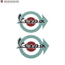 KODASKIN naklejki winylowe logo Film Vespa emblematy 2D naklejki i naklejki na Piaggio VESPA