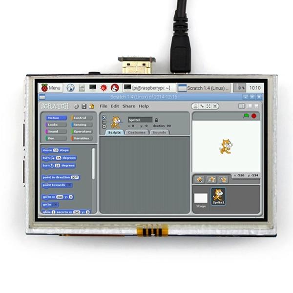 5 zoll LCD HDMI Touch Screen Display TFT LCD Panel Modul 800*480 für Banana Pi Raspberry Pi 4B raspberry Pi 3 Modell B / B +