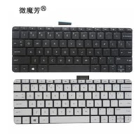 new us laptop keyboard for hp stream 11 d 11 d011wm 11 d010wm 792906 001 794447 001 11 g 11 r english white and black no frame