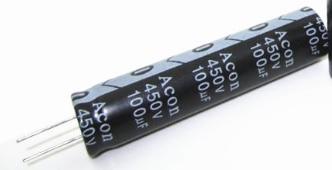 450V100UF LED TV dedicated capacitance Samyoung Electrolytic Capacitors 450V 100UF 12.5mmx60mm