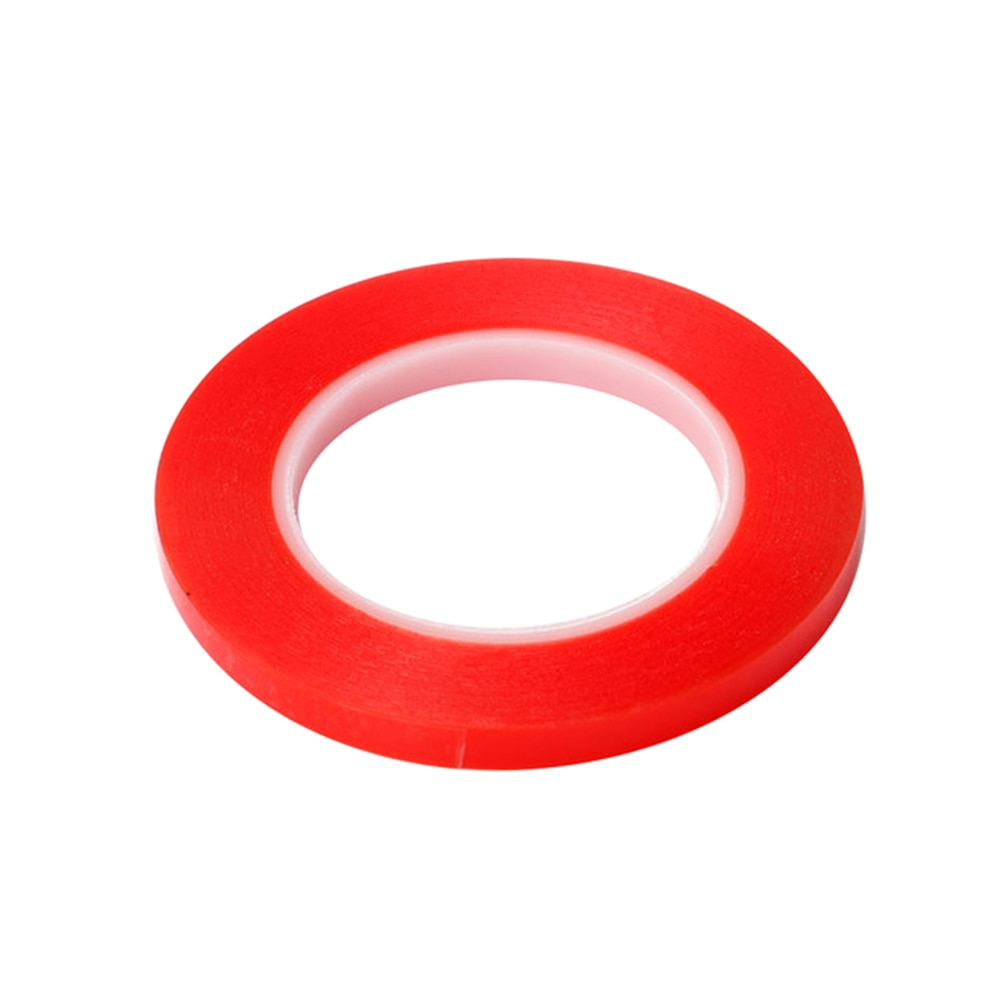 MELHOR 1 Rolo Adesivo Resistente Ao Calor Double-sided Fita Adesiva Transparente Claro 1mm 1.5mm 2mm 3mm 5mm 7mm 8mm 10mm