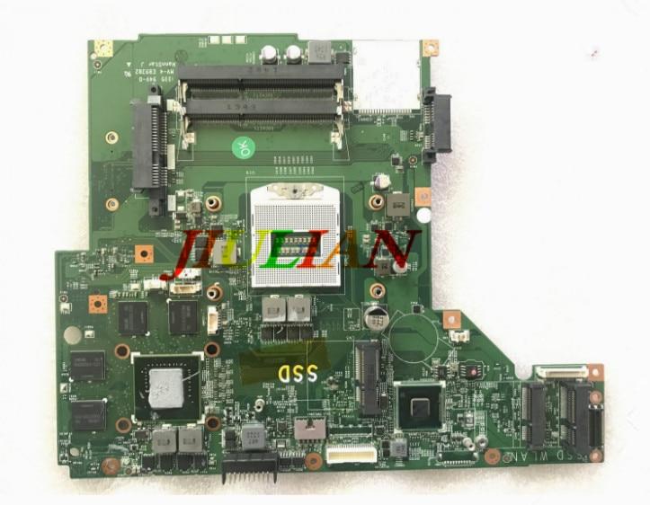Placa base portátil para MSI GE70 placa base MS-1757 MS-17571 VER 1,1 DDR3 W/GTX850M GPU probado OK