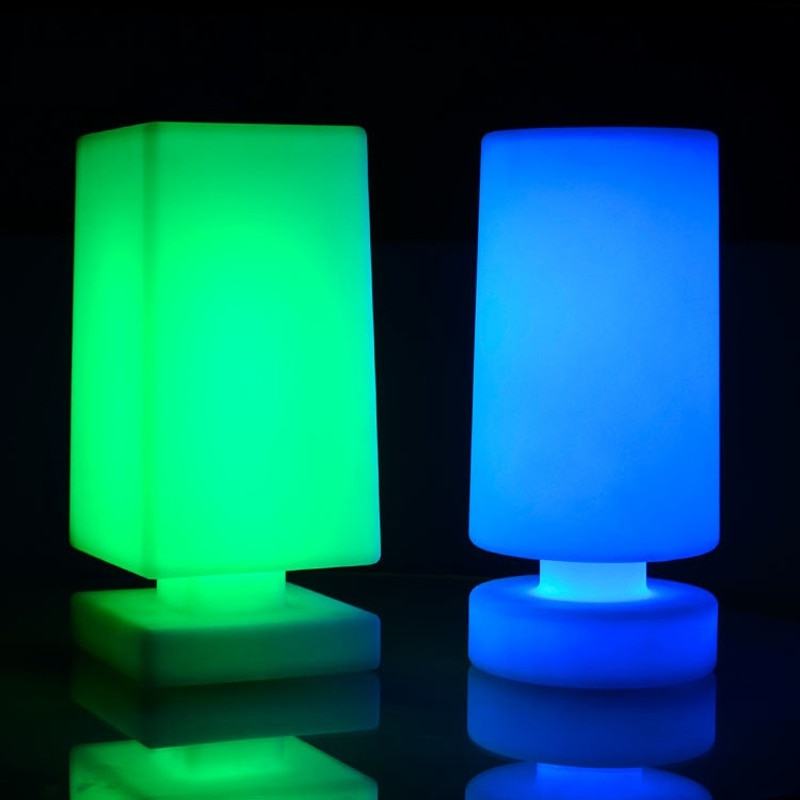 LED Desk Light USB Rechargeable Table lamp IP65 Waterproof Bar Party Decor Home Lighting RGB Round Night Lamp by Remote Control enlarge