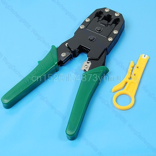 RJ45 RJ11 RJ12 CAT5 Network Cable Crimper Pliers Tools new hot