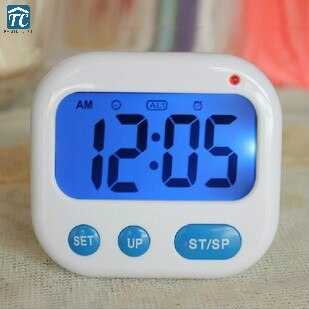 Reloj de bolsillo con temporizador, reloj práctico Mini con vibración para viajes, recordatorio práctico, reloj despertador inteligente Digital para niños, reloj de escritorio con pantalla Led