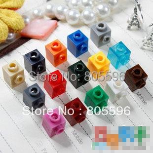 Elementos piezas de ladrillo 87087 ladrillo modificado 1x1 con perno en 1 lado pieza clásica juguete de bloques de construcción accesorio Bricklink 075
