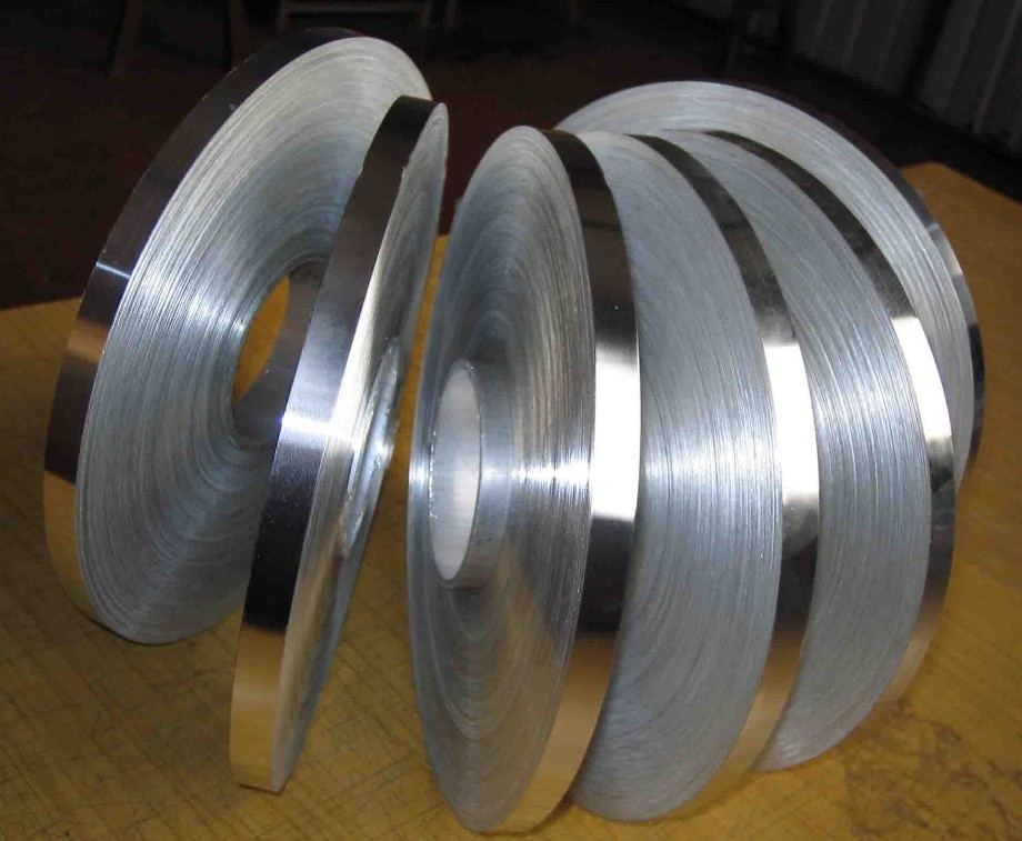 customized authentic 304 321 316 stainless steel col rolled bright thin foil tape strip sheet plate coil roll SS304 2B surface 0.3mm Thickness 100mm Width Stainless Steel Strip Stainless coil plate  1 meter