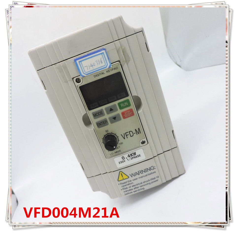 VFD004M21A العاكس VFD-M سلسلة 220v-0.4kw