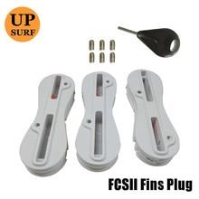 quillas fcsii 5 degree  fin plugs surf acessorys fin key fin box surf fcs ii Fusion Fin Plug 3pcs sales