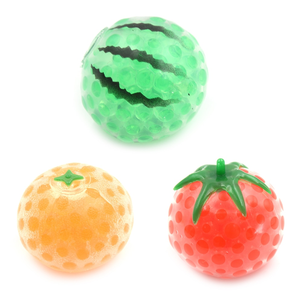 1pc Pressure Relief Relax Novelty Gift Vent Gag Toy Funny Soft Pig Anti Stress Face Reliever Smash Water Ball Squeeze Heart Ball