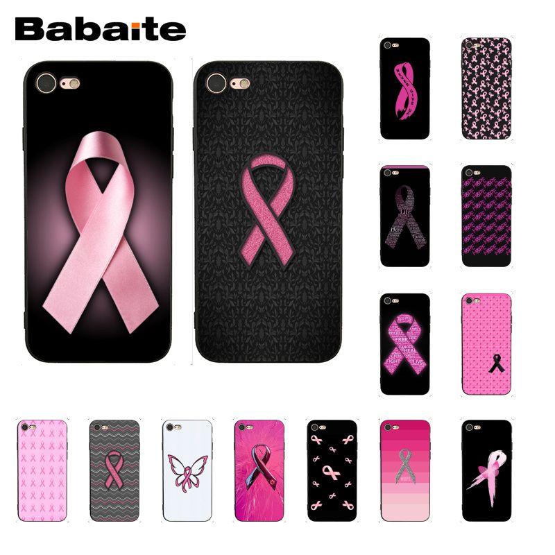 Babaite Girl mama Cáncer Rosa cinta teléfono funda para iphone 11 Pro 11Pro Max 8 7 6 6S Plus 5 5S SE XR X XS MAX