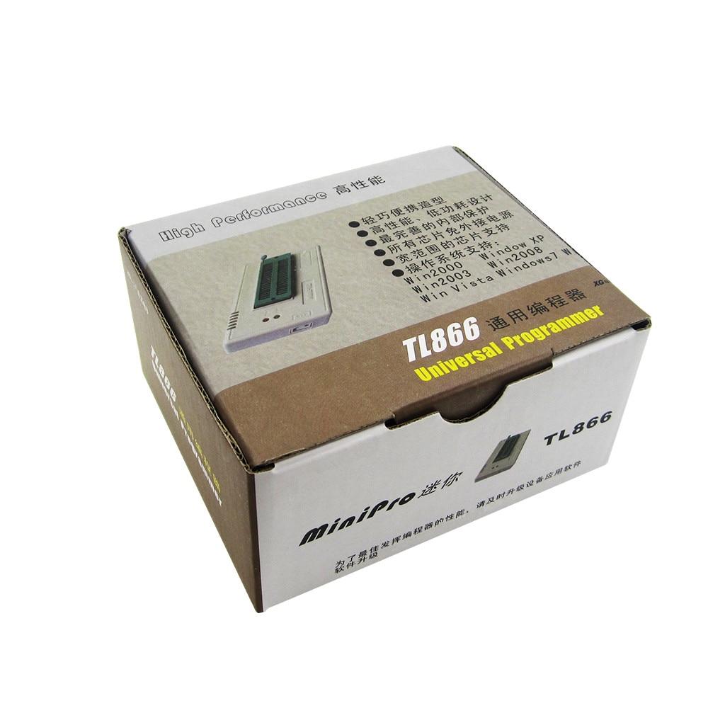 HAILANGNIAO 1 قطعة TL866II TL866 2018 أكتوبر تحديث MiniPro العالمي مبرمج عالية الأداء 100% جديد