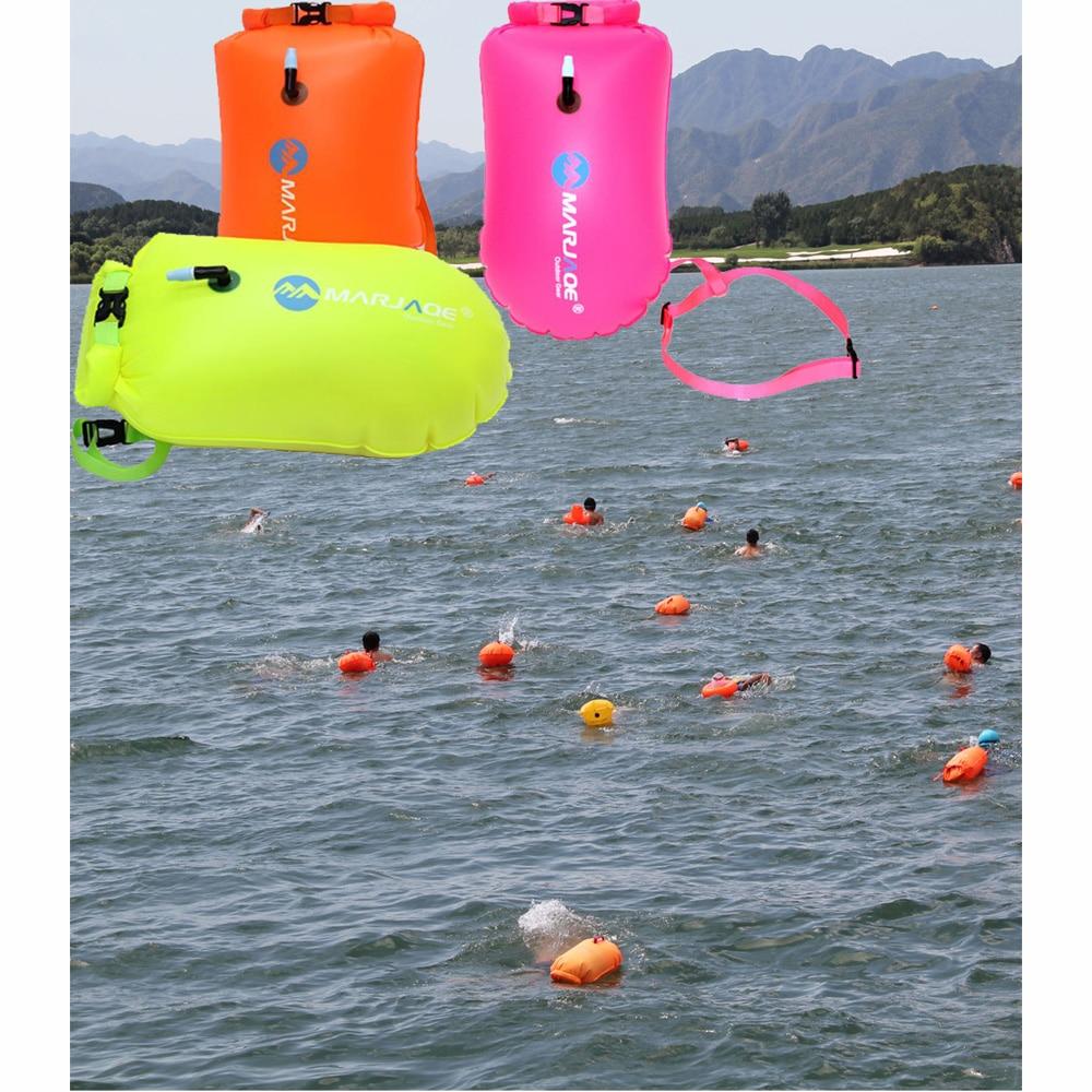 10KG Buoyancy Swimming Storage Bag PVC Waterproof Swim Tow Float Buoy Safety Float Inflatable Flotation Air Bag