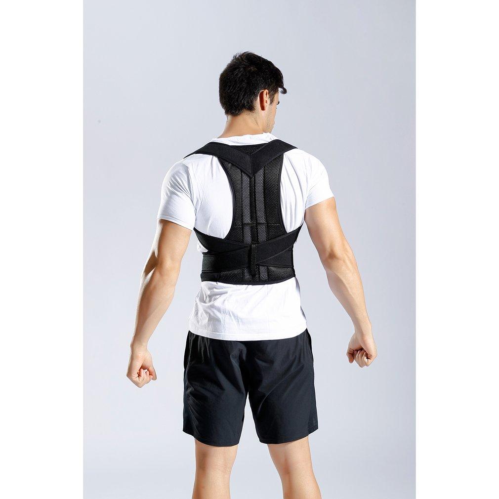 Corrector de la postura de la espalda de la correa de corrección de la postura del Protector de la espalda correa de refuerzo de la correa