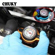 CHUKY bouchon de radiateur thermostatique   Réservoir deau de voiture, CHUKY avec jauge de température, accessoires pour Hyundai I30 IX35 Nissan Juke Subaru