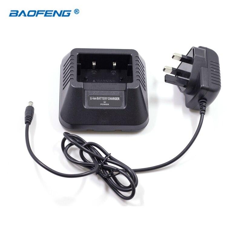 Radio talkie-walkie BAOFENG batterie ue US royaume-uni AU chargeur de bureau adapté pour BAOFENG UV-5R UV-5RA 5RB UV-5RE Plus Baofeng accessoires
